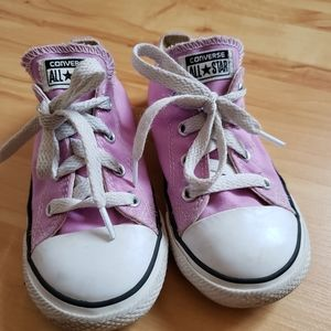 CONVERSE Pink Infant Girl Shoes size 9
